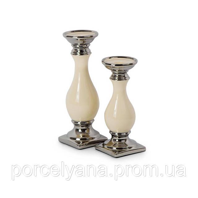 Керамический подсвечник 220мм для длинной свечи Anlux