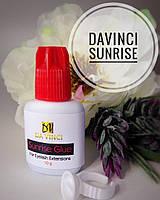 Клей для наращивания ресниц Davinci Sunrice 10г сцепка 1-2 сек. носка 7-8 недель