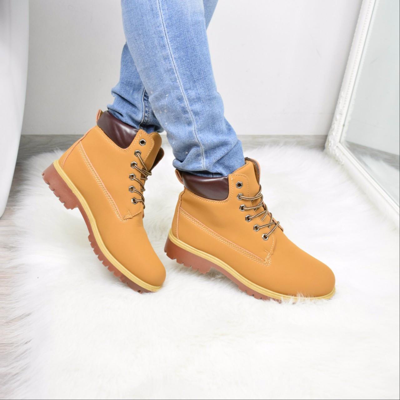 37d5643a35f2 Ботинки женские Timber коричневые 3671, ботинки женские - Интернет-магазин