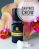 Клей для наращивания ресниц Davinci Crow 10г сцепка 0.5 -1 сек . носка 7-8 недель