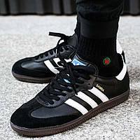 Оригинальные кроссовки adidas Samba OG Core Black (BB3114)