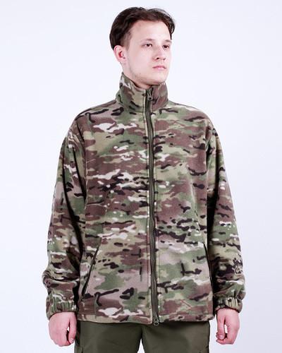 Куртка флисовая камуфляжная MULTICAM