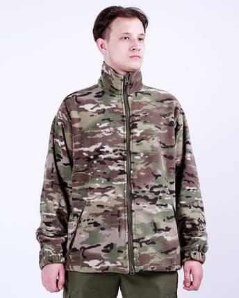 Куртка флисовая камуфляжная MULTICAM, фото 2