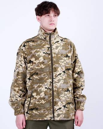 Куртка флисовая камуфляж Пиксель , фото 2
