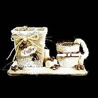 Подарок Кашпо кофейная тематика С чашкой 11см 9955