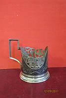 Серебрянный подстаканник Кубачи Серебро 875*