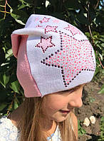 Вязаная шапка для девочки - Da1725