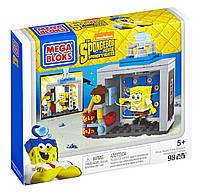 Конструктор Мега Блокс Губка Боб Фото студия Mega Bloks The SpongeBob Movie: Sponge Out of Water Photo Booth , фото 1