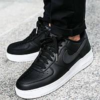 Оригинальные кроссовки Nike Air Force 1 `07 Premium Black (905345-001)