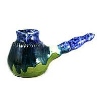 Турка керамическая ручной работы глазурованная 300мл 9932