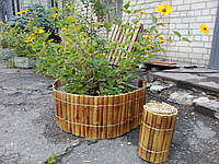 Забор(ограждения) из бамбука обожженный 30х200см рейка 30-45мм