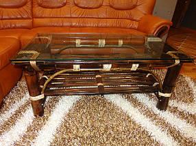 Бамбуковая мебель в квартире