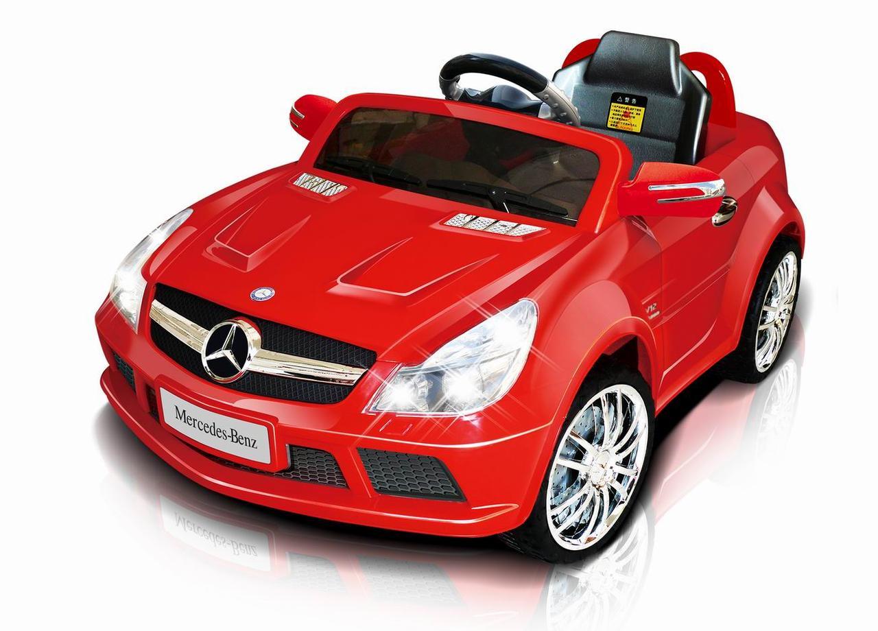 Электромобиль T-794 Mercedes SL65 AMG RED легковая на р.у.