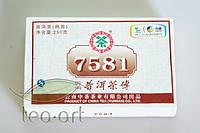Чай Пуэр Шу Пу-Эр 7581 2002, Кирпич (250 г)