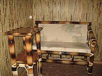 Диванчик бамбук 3 (120см)