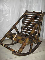 Кресло-качалка из бамбука