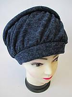 Женские трикотажные шапки., фото 1