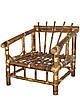 Кресло из бамбука Каллибри - Фото