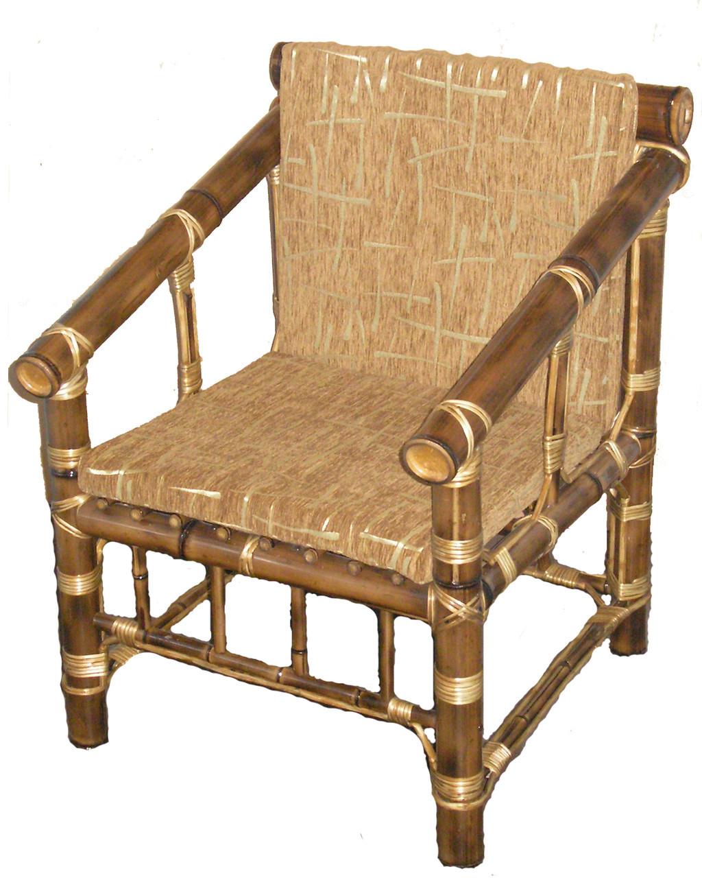 Кресло из бамбука Классик