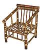 Кресло из бамбука Классик - Фото