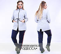 Спортивный костюм батал ПО-1049/1-09-ВИК