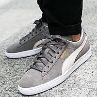 Оригинальные кроссовки Puma Suede Classic+ Steeple Gray (35263466)
