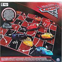 """Настольная игра: быстрее вверх """"Тачки-3"""" (большое игровое поле из резины 68 х 68 см) SM98420/60391 Spin Master"""