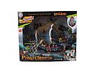 Корабль пиратов 50898F (фигурки 9 шт, пушка, вышка), фото 2