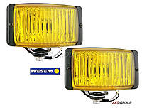 Противотуманные фары 138x78x68мм Wesem HM2.19973 галогенные желтые , фото 1
