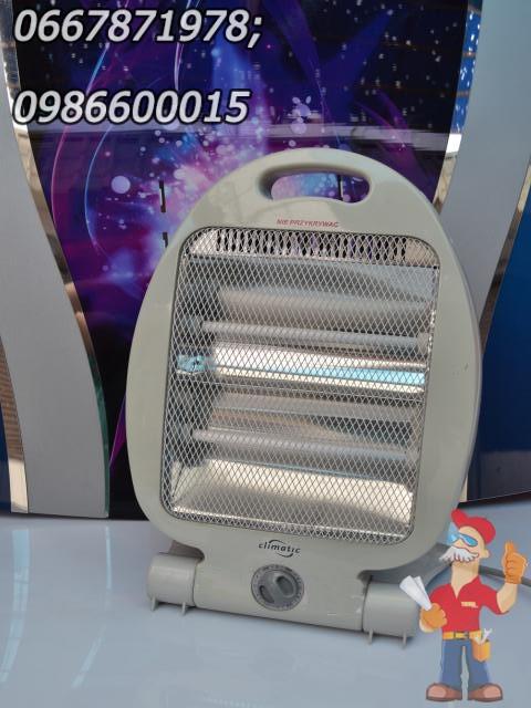 Тепловентилятор, обогреватель галогенный Climatic 3303 0,8 кВт. Распродажа в связи с закрытием магазина!!