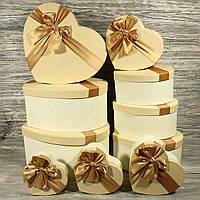 Подарочная коробка сердце 3122842-2-01 (7 шт. в комплекте)