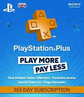 Playstation Plus 365 days (UK)