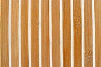 Обои из бамбука (полосатые) ширина планки 8/8;17/5мм высота 2,0м.