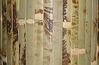 Обои из бамбука (черепаховые) ширина планки 17 высота 2,0м.