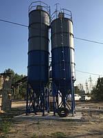 Монтаж  силоса на Бетоносмесительной установке БЗУ-40 К г.Балта