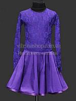 Рейтинговое платье (бейсик)  для девочки цвет любой