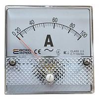 Амперметр А-80 (80x80 мм) 100/5 А (AC) трансформаторного включения, АСКО-УКРЕМ, A0190010050