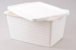 Пищевой контейнер с крышкой Heidrun 10 л, 33х23х16 см (4510)