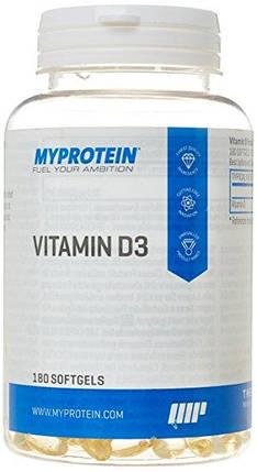 MyProtein Vitamin D3 180 caps, фото 2