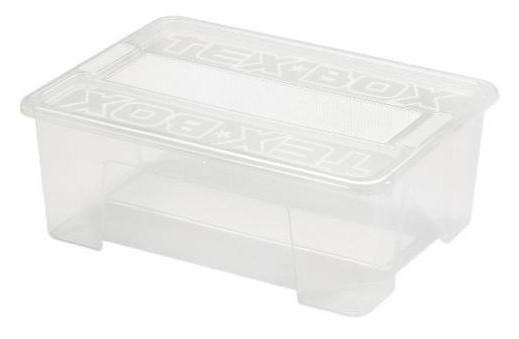 Пищевой контейнер с крышкой Heidrun 25 л, 38х28х27 см (7205)