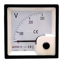 Вольтметр А-72-6 (72x72 мм) 500 В (AC) прямого включения, АСКО-УКРЕМ, A0190010066