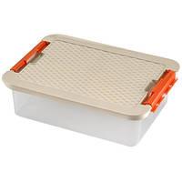 Пищевой контейнер с крышкой Heidrun 9 л, 40х29х11 см (4603)