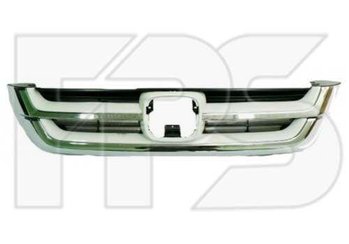 Решетка радиатора Honda CR-V 10-12, комплект хром. (FPS)