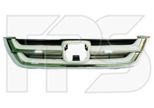 Решетка радиатора Honda CR-V 10-12, комплект хром. (FPS), фото 2