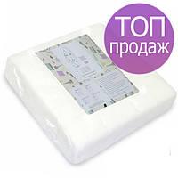 Безворсовые салфетки Panni Mlada 20х20см 40г/м2, гладкие/сетка, 100 шт в пластах