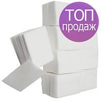 Безворсовые салфетки, 5*5см, 40г/м2, 1000 шт., гладкие (для маникюра, педикюра, снятия лака)