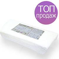 Одноразовые полотенца, 35*70см 40г/м2, 50 шт., спанлейс, гладкие (нарезные, в пластах)