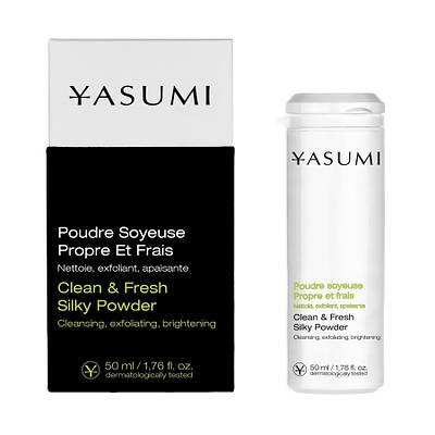 Пудра для ежедневной чистки кожи - Clean & Fresh Silky Powder