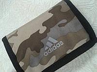 Кошелек adidas молодежный камуфляж цвета хаки