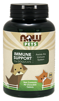PETS Immune Support for Dogs/Cats  Now Foods (90 tablets)
